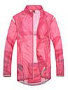 SANTIC Women\'s Cycling Rain Jacket/Waterproof jacket/Raincoat (Pink) Outdoor Anti UV Ultralight Breathable
