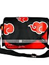 Väska Inspirerad av Naruto Naruto Uzumaki Animé Cosplay Accessoarer Väska / ryggsäck Svart / Röd PVC Man / Kvinna