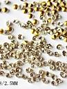 1440pcs 2.5mm glitter rhinestone nagel dekorationer