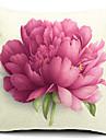 blomma bomull / linne dekorativa örngott