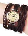 Women's Vintage Long Strap Style Leather Band Quartz Analog Bracelet Watch (Assorted Colors) Cool Watches Unique Watches Fashion Watch