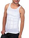 hommes shaper minceur reservoir gilet serre sous-vetements taille dessin abdomen respirant edition de sports ny082 blancs