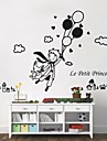 Wall Stickers Wall Decals,  Modern The little prince and balloon PVC Wall Stickers