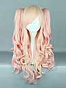 mcoser baby rosa och grädde lockigt flätor 70cm sweet lolita peruk
