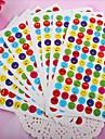 leende scrapbooking dekorera klistermärken (10st)