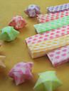 Materiale de origami stea luminoasă (27 buc / sac)