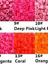 ca 500st / väska 5mm Perler pärlor smälta pärlor Hama Pärlor eva material safty för barn (diverse b8-b16)