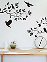 ZOOYOO® Cute Colorful animal PVC Removable bird fly above the tree of Wall Stickers Hot Selling Wall Decals Home Decor