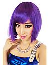 Perruques de Cosplay Cosplay Fete / Celebration Deguisement Halloween Violet / Marron / Blanc / Bleu Couleur Pleine PerruqueHalloween /