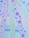 2x 30 pcs fluorescent papillons et fleurs effi modele bonne etoile materiaux d\'origami (couleur aleatoire)