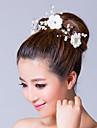 Women\'s Alloy/Cubic Zirconia/Fabric Headpiece - Wedding/Special Occasion Flowers/Wreaths