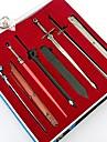 Svärd / Mer accessoarer Inspirerad av Sword Art Online Cosplay Animé Cosplay Accessoarer Nyckelring Svart / Blå / Silver LegeringMan /