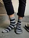 Men\'s Wool Socks Thick Jacquard National Wind Retro Socks