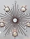 parete del metallo decorazione della parete di arte, la decorazione della parete candeliere specchio sole