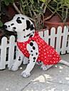 Dog Dress Red Dog Clothes Summer Polka Dots
