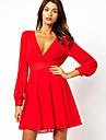 moda europeană rochii ieftine elegante km senwomen lui