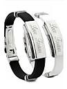 Personalized Unisex Fashion Bracelet Stainless Steel inspirational bracelets