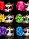 material plastic fantezie petrecere de Halloween rochie masca (culoare aleatorii)