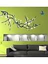 jiubai® arbre de fleurs et oiseaux sticker mural Sticker mural