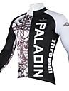 PALADIN® Cykeltröja Herr Lång ärm Cykel Andningsfunktion / Snabb tork / Ultraviolet Resistant Tröja / Överdelar 100% Polyester Dödskalle