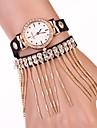 tout montre match de gland bracelet de diamant de sept femmes de fille