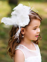 Women\'s / Flower Girl\'s Feather Headpiece-Wedding / Special Occasion Flowers