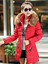 style coreen seins double couleur solide manteau de tofeel femmes