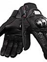 pro-motard ™ hiver de haute qualite chaleureuse gant de protection de velo de course pleine de doigt (cuir de mouton)