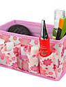 fällbara kvadratiska kosmetika förvaringsställ låda makeup borste potten kosmetisk arrangör (3 färger att välja)