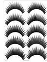 ögonfransar Ögonfrans Ögonfrans Tjock / Naturligt långa Volumized / Naturlig / Tjock / Lockigt Fiber