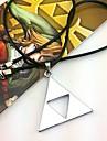 Smycken Inspirerad av The Legend of Zelda Cosplay Animé/ Videospel Cosplay Accessoarer Halsband Silver Legering Man