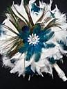 Bryllupsblomster Friform Buketter Bryllup Multi-farge Laer 4.72 tommer (ca. 12cm)