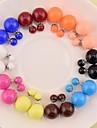 Cercei Stud Perle 6 7 8 9 10 Bijuterii Pentru Nuntă Petrecere Zilnic Casual Sport
