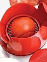 nya nyhet köksverktyg i rostfritt stål manuell tomat slicer frukt grönsaker fräs hugg