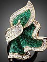 Inele Afirmatoare Aliaj imitație de diamant La modă Verde Smarald Fucsia Albastru Deschis Bijuterii Petrecere 1 buc