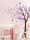 väggdekorationer väggdekaler, tecknad blomma träd pvc väggdekorationer.