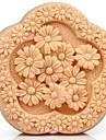daisy formad blomma fondant tårta choklad silikonform