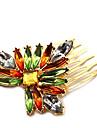 z&X® eleganta lyxiga multicolor hår (2 colors alternativ: lila, grön)