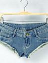 cintura baixa sexy calcas curtas Jean sagetech®women