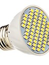 E26/E27 Spot LED 60 SMD 3528 360 lm Blanc Chaud Blanc Froid Decorative DC 12 AC 12 AC 24 DC 24 V
