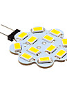 2w g4 led bi-pin lights 12 smd 5630 250 lm blanc chaud / cool blanc dc 12 v 10 pcs