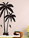 Wall Stickers Wall Decals, Coconut Tree PVC Wall Stickers