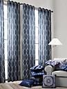En panel Fönster Behandling Modern Bedroom Polyester Material gardiner draperier Hem-dekoration For Fönster