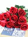 Gren Silke Plast Roser Bordsblomma Konstgjorda blommor #(60*5*5 cm(23.6*1.9*1.9 in))