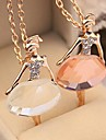 Necklace Pendant Necklaces / Pendants Jewelry Daily / Casual Fashion Alloy / Rhinestone Silver 1pc Gift