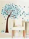 väggdekorationer väggdekaler, träd pvc väggdekorationer