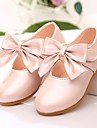 Fille-Exterieure Habille-Rose Or Corail-Talon PlatBallerines-Similicuir