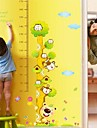 miljö borttagbara barn höjd pvc vägg sticker