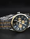 chenxi trois tableau de bord montre bracelet en or des hommes d\'affaires de quartz