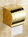 Toalettpappershållare Ti-PVD Väggmonterad 120*130mm(4.72*5.11inch) Mässing Neoklassisk